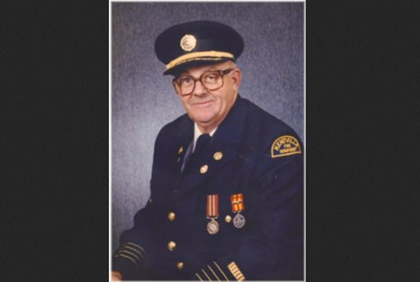 The late Harmon Illsley, the longest-serving chief of the Kentville Fire Department.