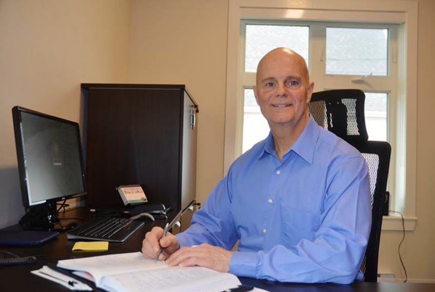 Town of Berwick chief administrative officer Michael Payne, a former RCMP officer once stationed in Berwick, is now engaged in public service life in the realm of municipal administration.