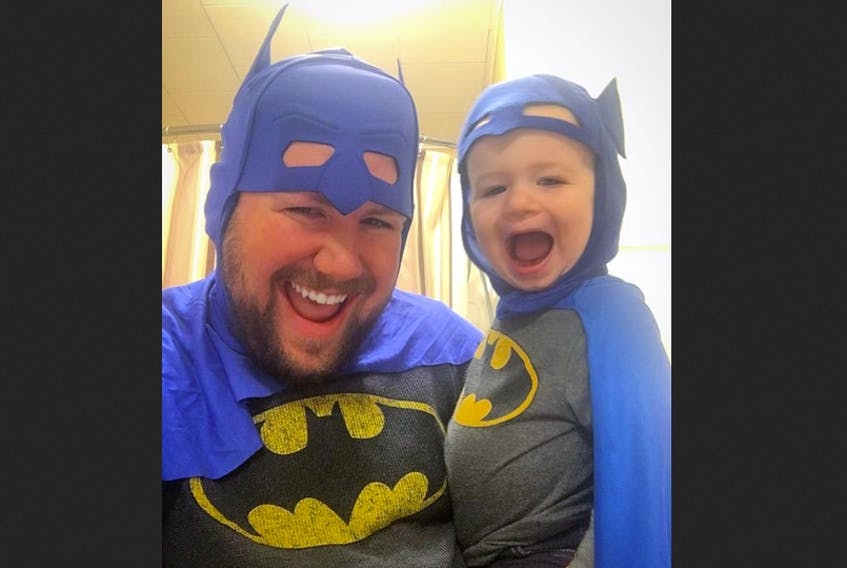 Ty Walsh, is not only the youngest Berwick town councillor, but also works tirelessly behind the scenes as a stay-at-home dad. Perhaps he can be equated to his favourite superhero, Batman, doing what he can to make his town a better place.