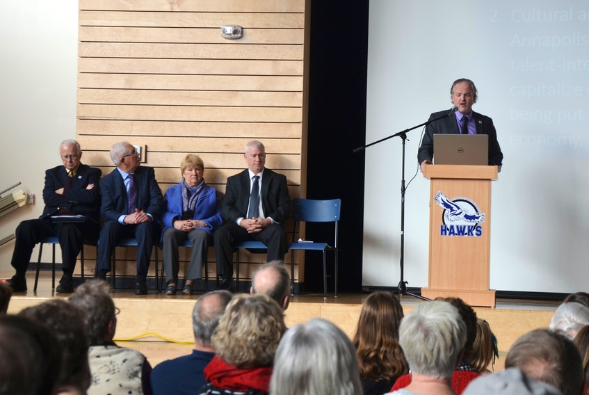 Annapolis County Warden Timothy Habinski announced Dec. 8 that the world's top private boarding school located in Scotland has granted its first and only franchise. Gordonstoun Nova Scotia will be built between Bridgetown and Annapolis Royal and will be home to 600 students from around the world every year.