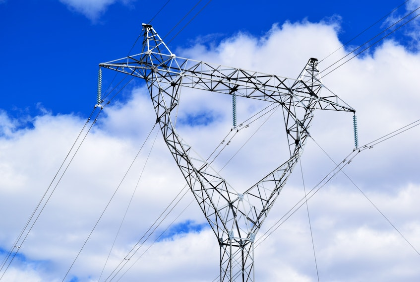 A transmission line up the north coast, like the one pictured above, would be a 'long-term play' according to the Premier.