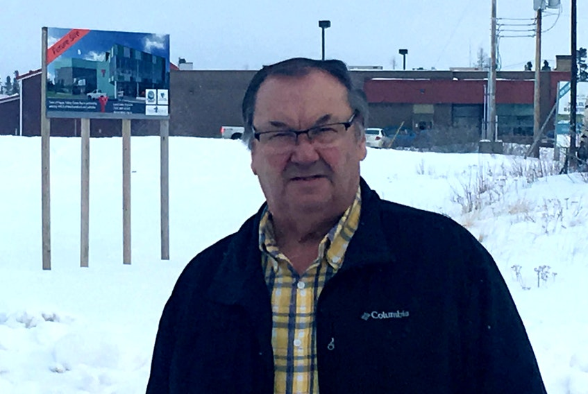 Happy Valley-Goose Bay Mayor Wally Andersen is happy to see the Labrador Wellness Centre project moving forward.