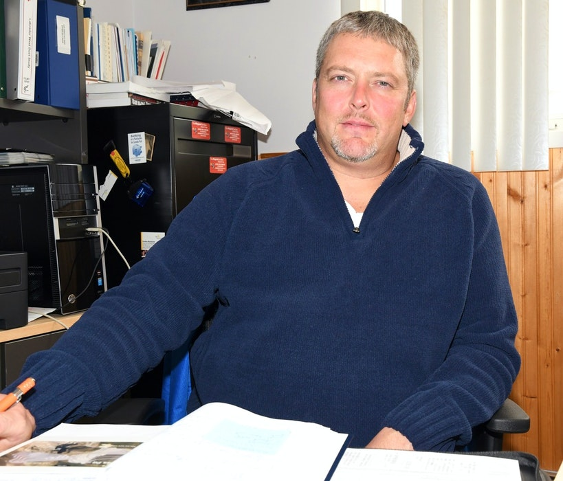 Ron Thomas is stepping down from his role as president of the Steelworkers Local 5795 in Labrador City. On Nov. 1, he will take on a new position as an international rep. - Mike Power