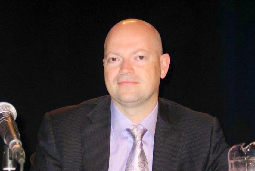 Nalcor Energy executive vice-president Jim Keating