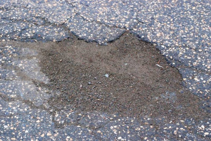 A resident of the central Newfoundland town of Embree decided recently to take local pothole repairs into his own hands. The resident estimates he has repaired 40 potholes on the main road alone.