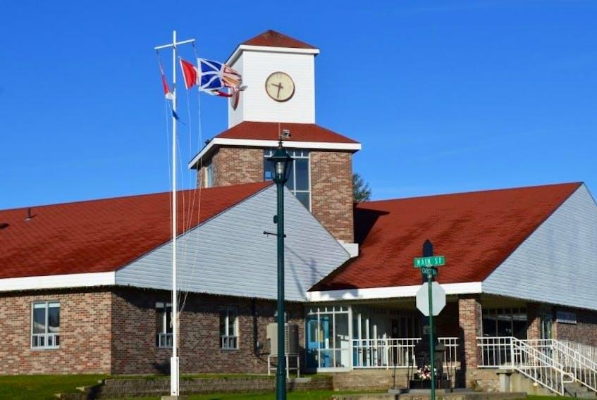 Lewisporte town hall