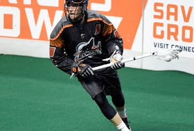 Former New England Black Wolves attacking forward Stephan Leblanc signed as an unrestricted free agent with the Halifax Thunderbirds last summer. - New England Black Wolves