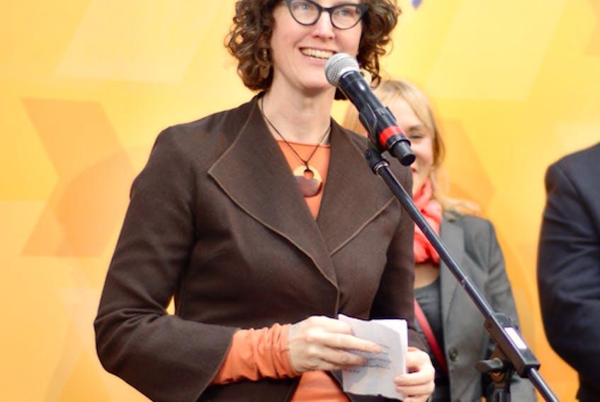 NDP MLA Lisa Roberts represents Halifax Needham.