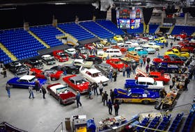 Seventy antique and custom vehicles were on display at the annual Wheels and Deals Car Show, hosted by the Cape Breton Classic Cruisers auto club, at Centre 200 in Sydney. The show was held on Friday and Saturday and drew car lovers from across the island.