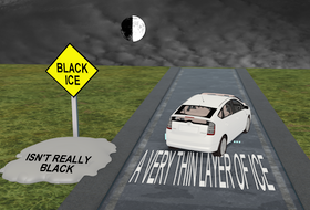 Black ice is not as common as you might think. – WSI