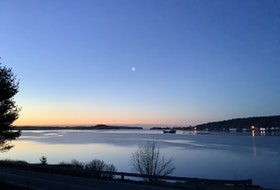 Graeme Bethune lives two minutes away from the ferry dock in East LaHave, N.S. He was up early in the morning when he took this peaceful photo of the LaHave ferry at sunrise - right from his front door!