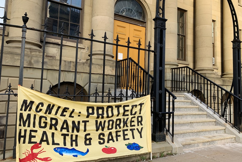 More than 30 organizations and unions signed an open letter, calling on the provincial government to adopt a list of recommendations to protect the health and safety of migrant workers, which was sent to Nova Scotia Premier Stephen McNeil on Wednesday. The groups also demand that the federal government provide immediate permanent resident status for all migrants, including migrant workers.