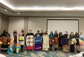A group of Mi'kmaq women celebrated their graduation from an early childhood education program offered at the Nova Scotia Community College on Saturday. The program was designed by Mi'kmaw Kina'matnewey, an organization that represents the educational interests of 12 Mi'kmaw communities in Nova Scotia, in partnership with NSCC to reflect the unique culture, language and community needs of Mi'kmaq children in the province.