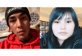 A search is underway in northern Labrador for two teens Courage Nui and Dream Gregoire who haven't been seen since Tuesday afternoon. Social media reports suggest the pair left Natuashish to go to Nain via snowmobile and have not been seen since.