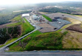 Moose River Consolidated Gold Project, plant construction site.