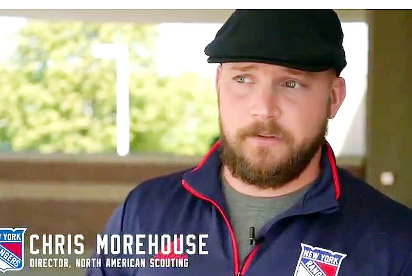 Chris Morehouse, who was born in Rothesay, N.B. and lived and played in Amherst with the Ramblers, was recently hired as the director of North American scouting for the New York Rangers after seven seasons with the Columbus Blue Jackets.