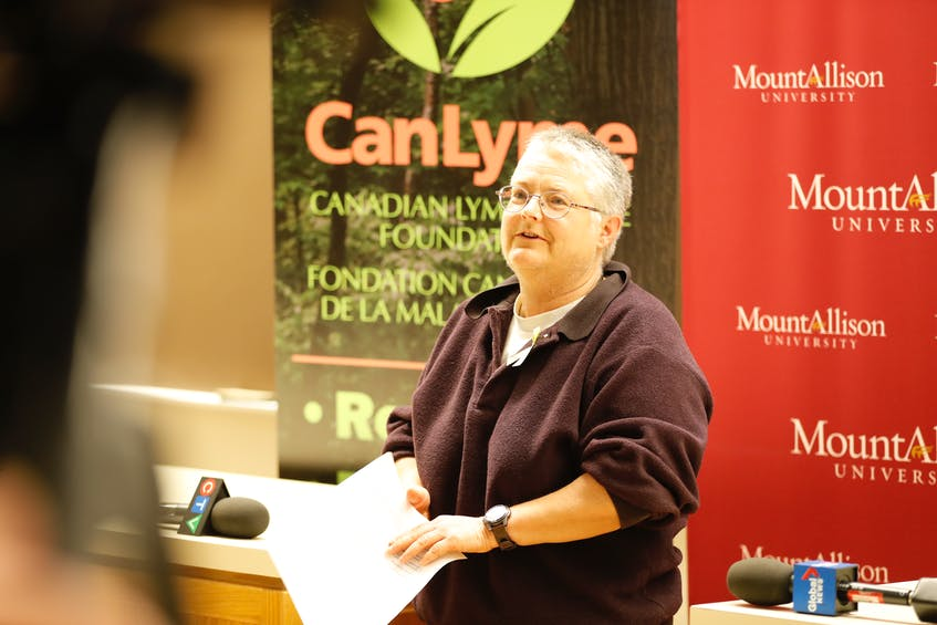 Vett Lloyd, a professor of biology at Mount Allison University who studies ticks and zoonotic diseases, says Sagle's case illustrates the complexity of Lyme disease and its impact on the body. - Contributed