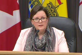 New Brunswick's chief medical officer of health Dr. Jennifer Russell announced the province's first presumptive case of COVID-19 during a press conference today.