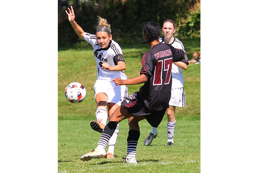Stellarton's Katie Walsh will be looked upon to provide leadership for the Dal AC Rams this week at the CCAA soccer championship in Halifax. Walsh, a centre mid-fielder, was an ACAA first-team all-star this season.