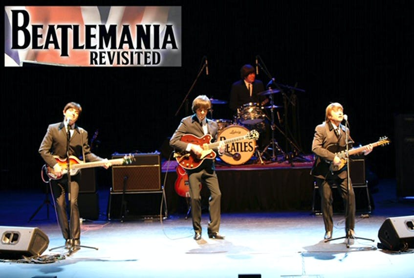 Memories of the Fab Four will be rekindled when Beatlemania Revisited takes to the deCoste centre stage June 12 in Pictou.