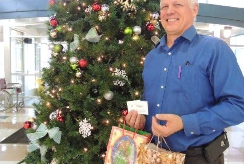 NSCC student services manager Scott MacGillivray heads a campus-wide effort to lift some of the burden felt by students struggling to provide Christmas for families.