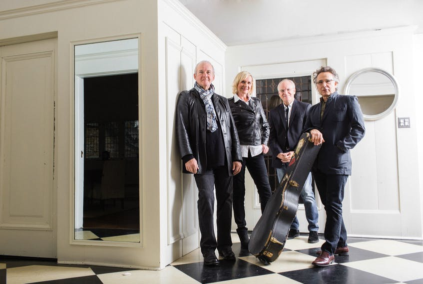 Lunch at Allen's is scheduled to perform at the deCoste on Oct. 20. The group is comprised of Ian Thomas, Murray McLauchlan, Cindy Church and Marc Jordan.