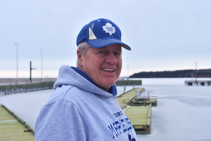 John Lakerman is retiring after 36 years as Harbour Manager at the Caribou Fisherman's Wharf.