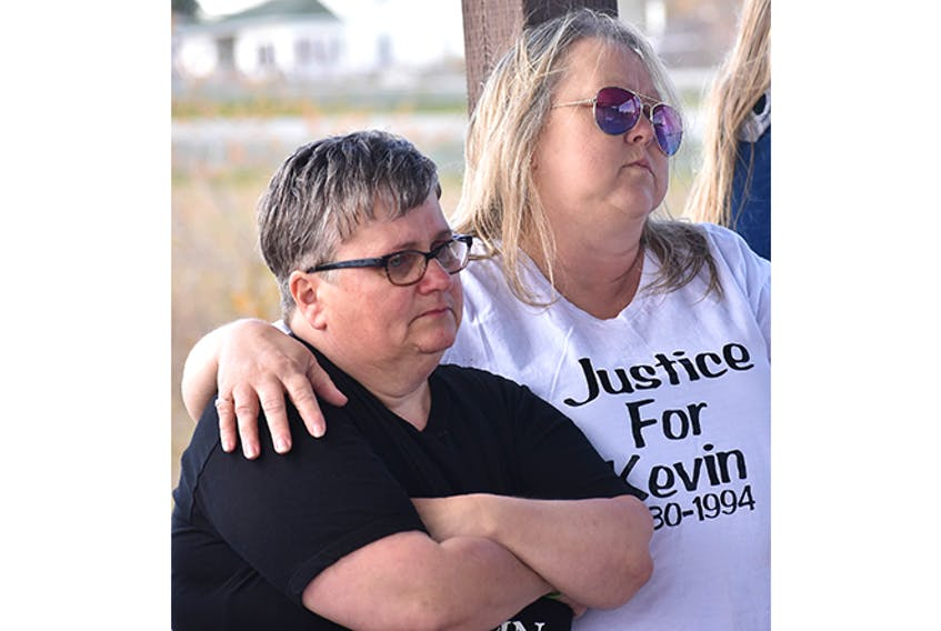 A bench in memory of Kevin Martin was unveiled in Stellarton on May 19, 25 years to the day that the 13-year-old disappeared from his Stellarton home.