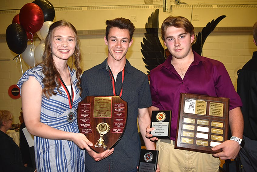 Northumberland Regional High School handed out its annual non-academic awards on June 6.