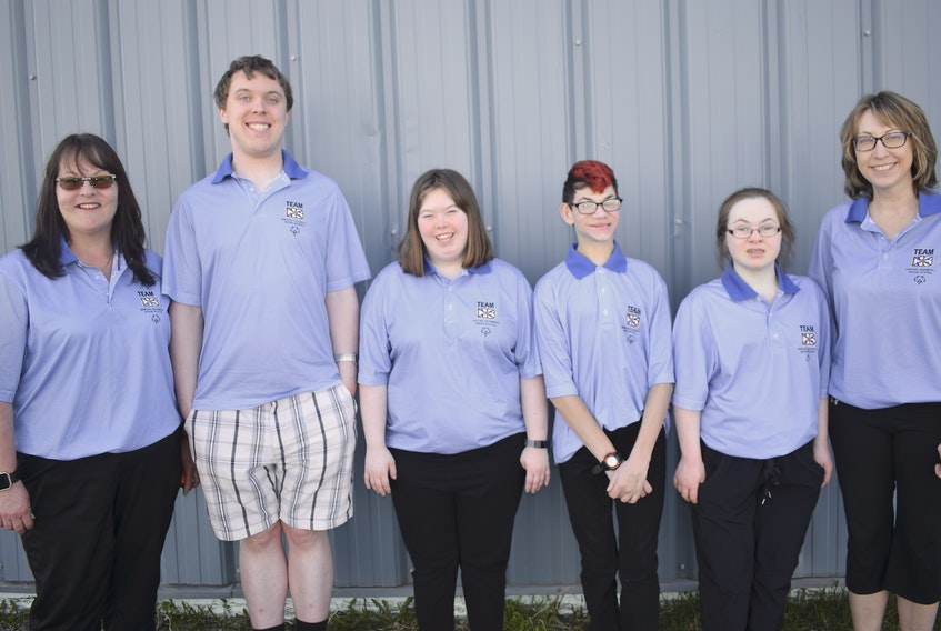 The Youth bocce team will compete at the Invitational Youth Games in Toronto. From left, coach Jean Ivey-Fraser, and athletes Ivan Willis, Kara Scott, Carson Campbell, Cydney MacLean and coach Sheri Scott.