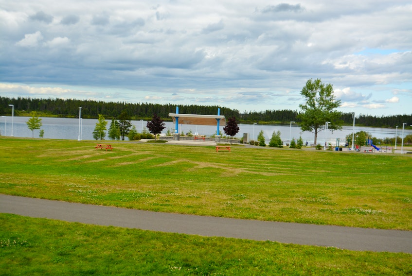 Gander is considering the Cobbs Pond Rotary Park as a possible destination for the proposed StarDisc.