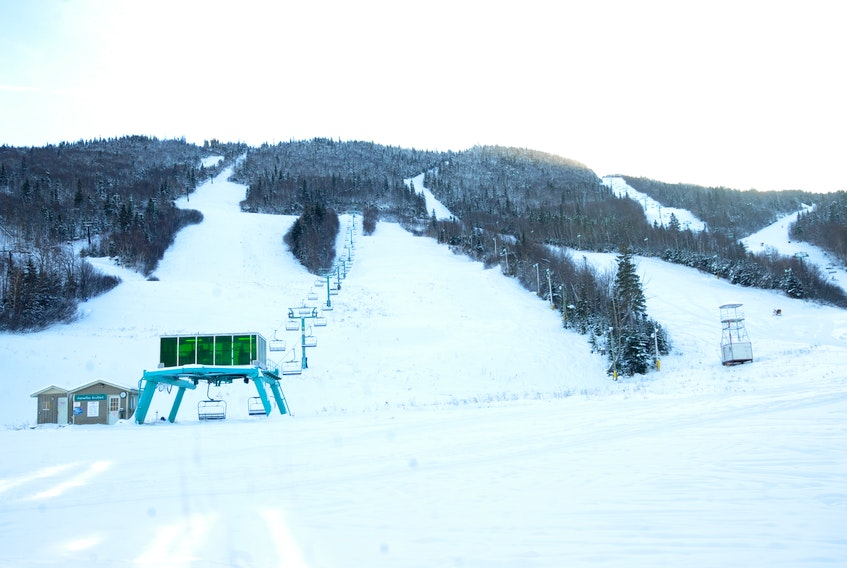 Attendance and revenue was down at Marble Mountain in 2019. STEPHEN ROBERTS / THE WESTERN STAR
