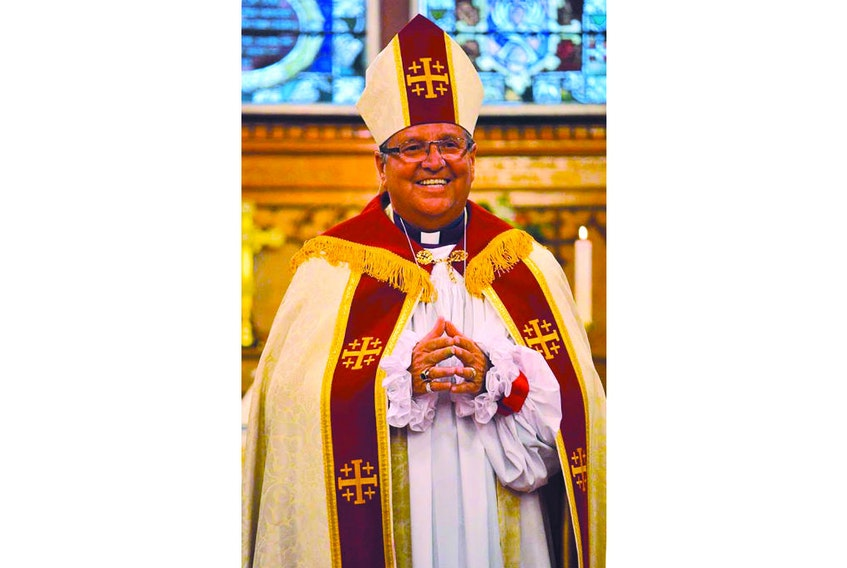 Bishop John Organ of the Diocese of Western Newfoundland. CONTRIBUTED BY ANGLICAN LIFE NEWSPAPER/THE WESTERN STAR