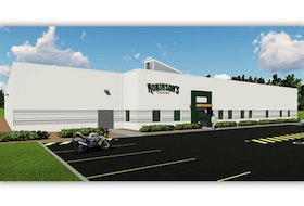 The proposed facility for Robinson's Cannabis in Kentville.