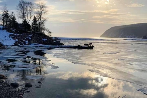 On Facebook, I asked for photos of what people were doing on the beautiful day we had last Friday, and Marlene Robinson sent this serene picture of her morning walk on Ingonish Beach in Cape Breton. Thank you for sharing, Marlene.