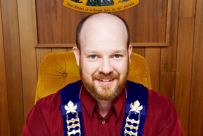 Baie Verte Mayor Brandon Philpott