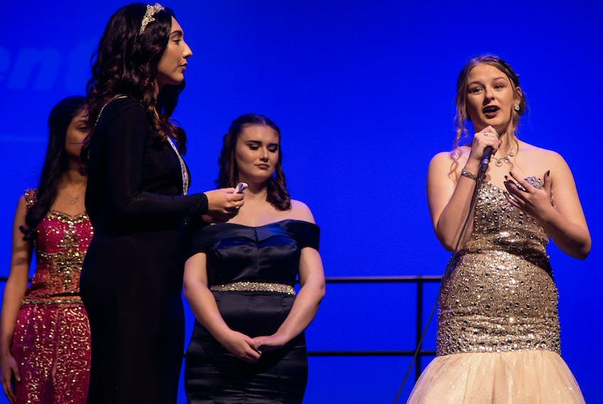 Hailey Noseworthy, right, of Silverdale participated in the Miss Achievement Newfoundland and Labrador Program last week.  Photo courtesy of Ben King