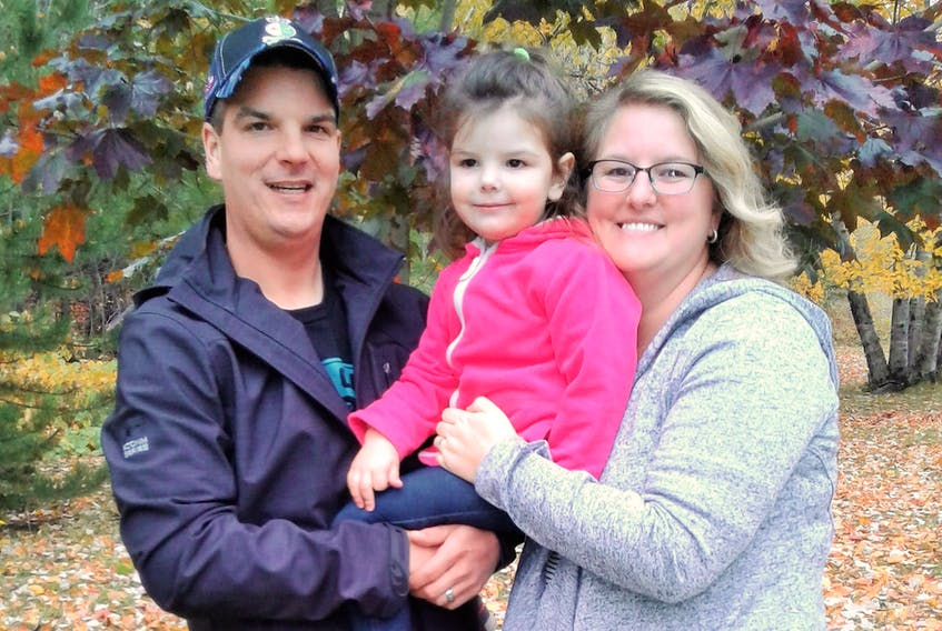 Lee and Jane Croucher are the parents of the only child on Long Island. Three-year-old Cassie is living her life to the fullest so far, according to her mom.