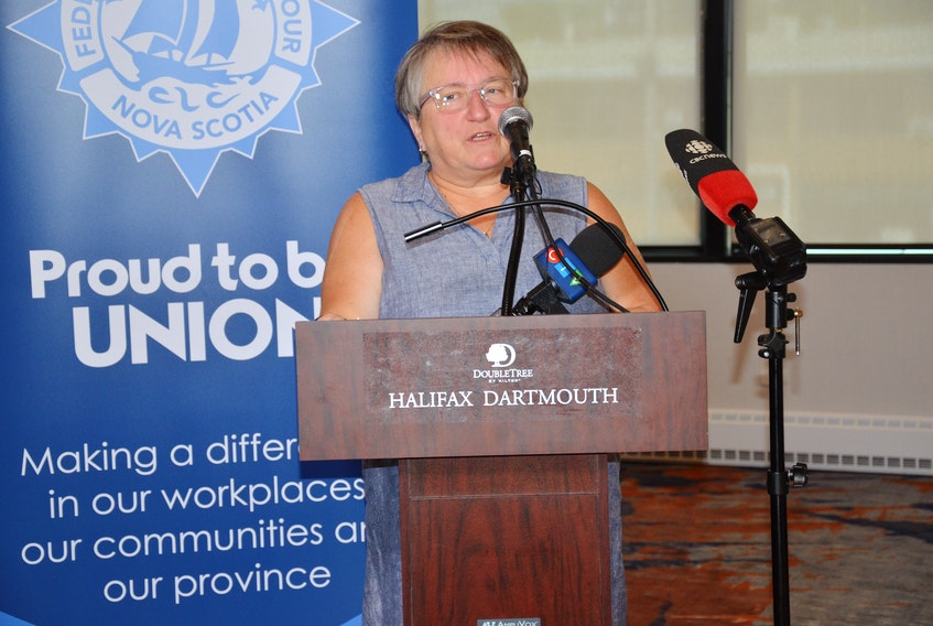 Nan McFadgen, president of CUPE Nova Scotia, says the province is not ensuring the health of her union members and all other Nova Scotians who will be working and learning in the school system in September.