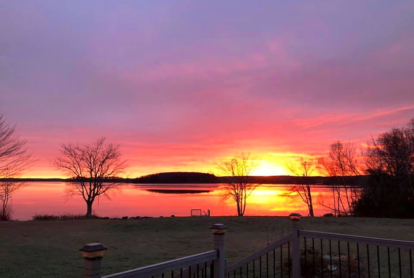 """""""Can you imagine a piece of the universe  More fit for princes and kings?""""  Allister Macgillivray     Judy Doyle watched as the rising sun set the morning sky ablaze over the Mira.   More words are not necessary."""