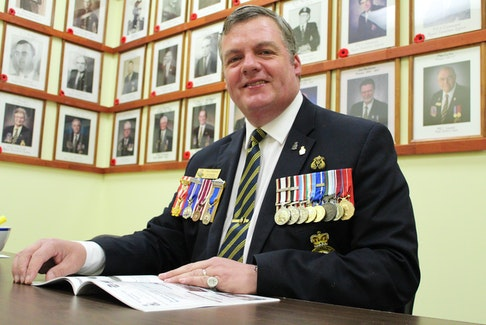 """Owen Parkhouse on the Royal Canadian Legion's success in P.E.I. : """"It comes down to good leadership and that leadership from the membership."""""""