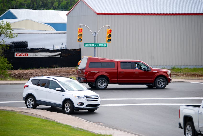 The Shoal Harbour Drive-Manitoba Drive intersection is one of the traffic signal locations in Clarenville currently under review in a study for the town.