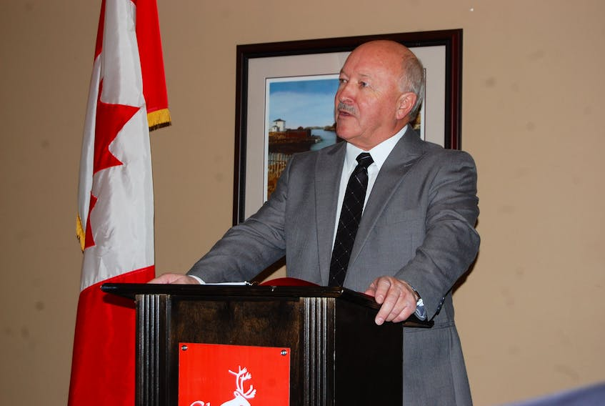 Churence Rogers in Clarenville on Monday, Jan. 15.