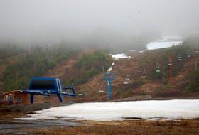 White Hills Ski Resort in May.