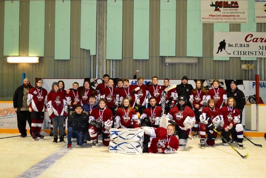 The Bonavista-Trinity Minor Hockey Association Cabots.