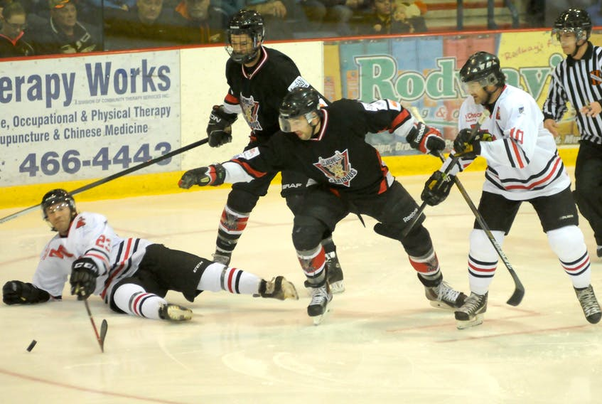 The Clarenville Ford Caribous have decided not to attend the Allan Cup this year after a request from Hockey NL.