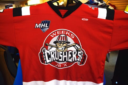 Pictou County Crushers.