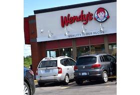 Wendy's restaurant in New Glasgow.