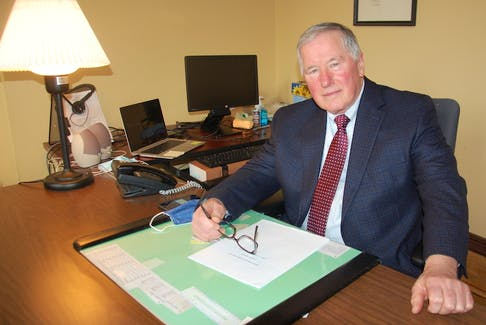 """Kent Brown, who is retiring at age 72, says he was in no hurry to leave his job as director of legal aid in Prince Edward Island. He says he enjoyed all aspects of the job and credits """"wonderful staff'' over the years with """"making it a pleasure to come to work every day.''"""