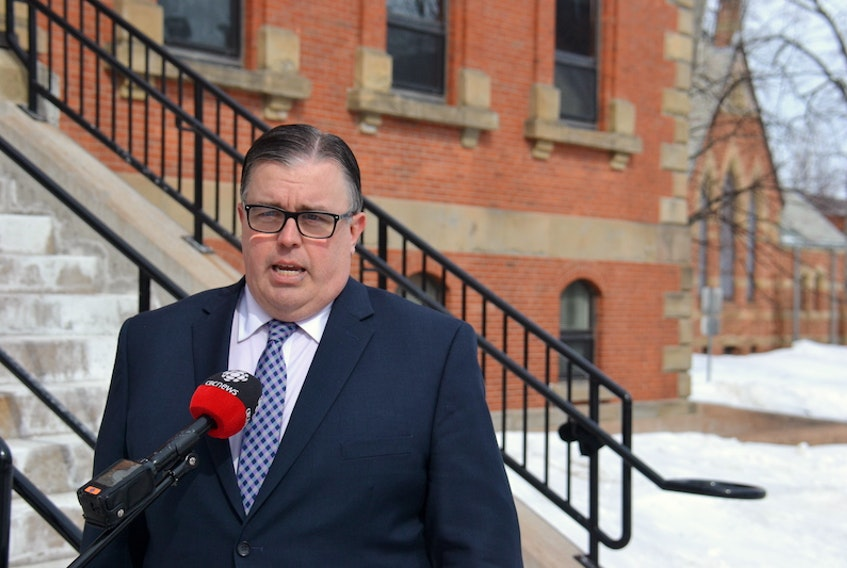 Environment Minister Steven Myers said he would listen to recommendations from a standing committee studying the province's Water Act. But Myers said his actions would largely be based on recommendations from staff in his department.